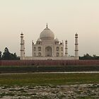 Taj Mahal at Sunset by John Dalkin