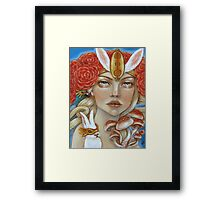 You're a Serpent and there's no use denying it Framed Print