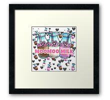 Moo Milk   Framed Print