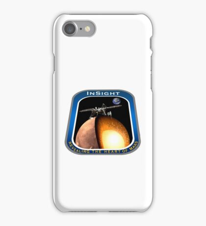 InSight Mission Operations Logo iPhone Case/Skin