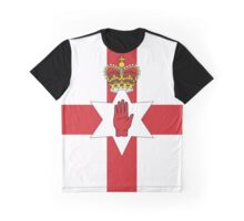 Northern Ireland Flag Graphic T-Shirt