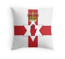Northern Ireland Flag Throw Pillow