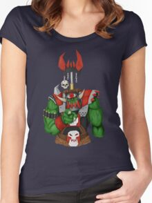 Unkull Ork (no background or text) Women's Fitted Scoop T-Shirt