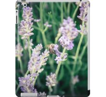 Bee and lavender iPad Case/Skin