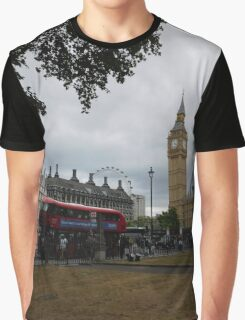 London Sightseeing Graphic T-Shirt