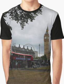 London Sightseeing Graphic T-Shirt