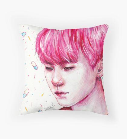 SUGA SPRINKLES   SUGA Throw Pillow
