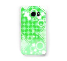 Pure Green Diamond Pattern Samsung Galaxy Case/Skin