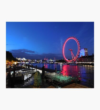 Eye in the Night Photographic Print