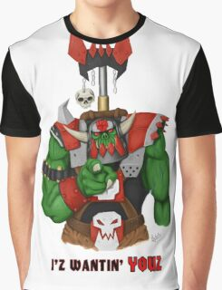 Unkull Ork (text) Graphic T-Shirt