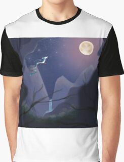 Walking On Starlight Graphic T-Shirt