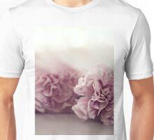 Pastel Pink Carnations Unisex T-Shirt