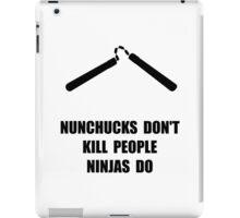 Nunchucks Ninja iPad Case/Skin