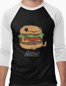 Stacked Men's Baseball ¾ T-Shirt