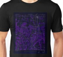 USGS TOPO Map Alabama AL Falkville 303809 1927 24000 Inverted Unisex T-Shirt