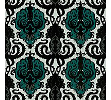 Squid Ink Pattern Photographic Print