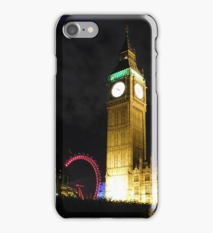 London at Night iPhone Case/Skin