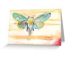 Jupiter Cicada Greeting Card