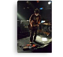 Japanese Guitar Player Canvas Print