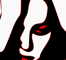 §♥Sexy Romantic Mortally Stunning Vampire Guy Clothing & Stickers♥§ Sticker