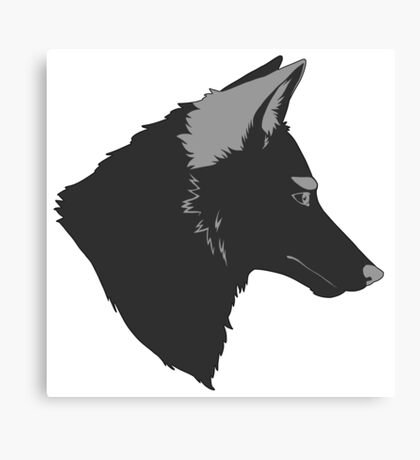 Sly Coyote Canvas Print