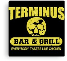 Terminus Bar And Grill Canvas Print