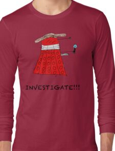 Dalek Investigate Long Sleeve T-Shirt