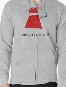 Dalek Investigate Zipped Hoodie
