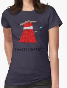 Dalek Investigate Womens Fitted T-Shirt