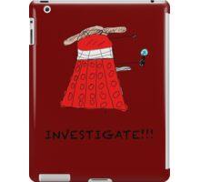 Dalek Investigate iPad Case/Skin