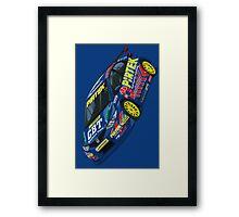 Andrew Jordan BTCC Honda Civic Framed Print