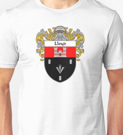Lloyd Coat of Arms/Family Crest Unisex T-Shirt