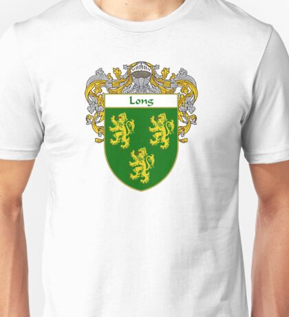 Long Coat of Arms/Family Crest Unisex T-Shirt