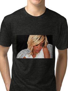 Rihanna Angel Tri-blend T-Shirt
