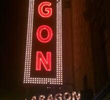 Aragon Ballroom Anthrax Sticker