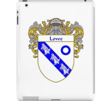 Lowe Coat of Arms/Family Crest iPad Case/Skin