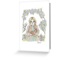 Margo and Amber Greeting Card