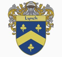 Lynch Coat of Arms/Family Crest Kids Tee