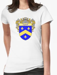 Lynch Coat of Arms/Family Crest Womens Fitted T-Shirt