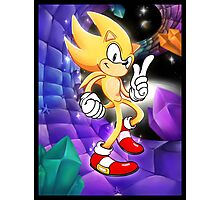 Super Sonic Racing Photographic Print