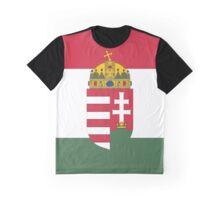 Hungary COA Flag Graphic T-Shirt