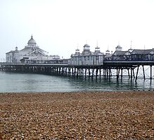 Eastbourne Pier in October by RachelMacht