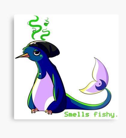 Yankee - Smells Fishy Metal Print