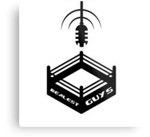 Realest Guys Podcast Logo Metal Print