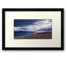 Pyramid Lake Sunrise Nevada Framed Print