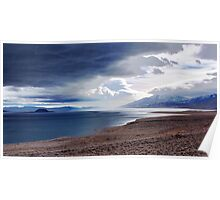 Pyramid Lake Sunrise Nevada Poster