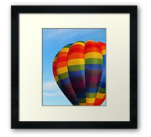 Balloon Colors Framed Print
