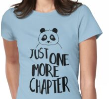 just one more chapter! Womens Fitted T-Shirt