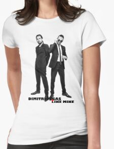DIMITRI VEGAS & LIKE MIKE UNLIMITED COVER Womens Fitted T-Shirt