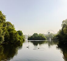 St James' Park, London by Ludwig Wagner